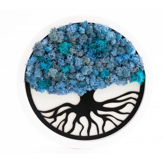 Tablou Arborele Vietii Blue