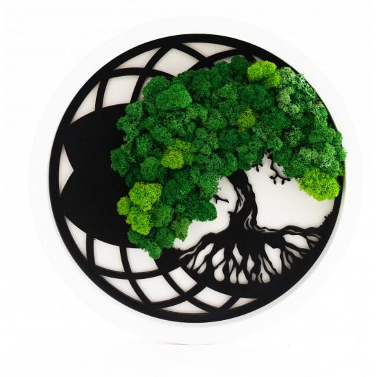 Tablou Arborele Vietii Green