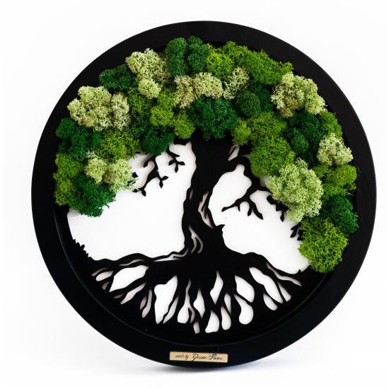 Tablou Arborele Vietii Verde